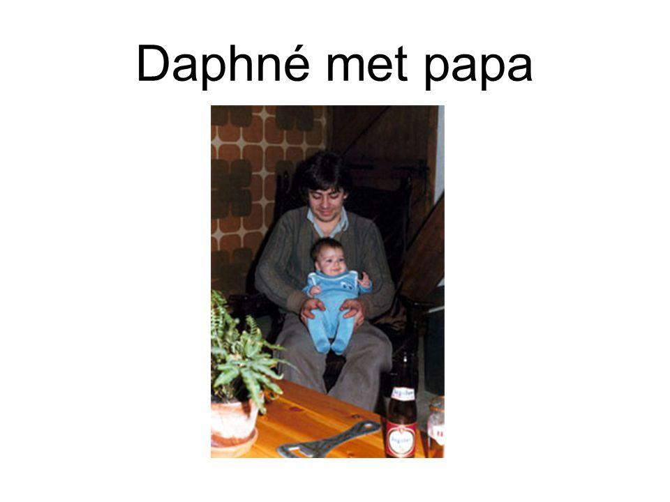 Tekst: M.Moulart, Bongrain Benelux (werkgever Daphné) Nous avons été fortement touchés par le décès de notre Daphné le 24 novembre dernier.