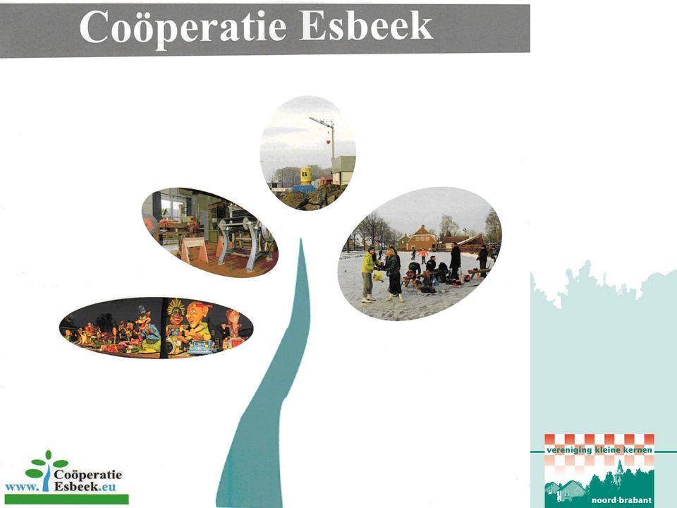 Aankoop en verbouw café Schuttershof door Coöperatie Esbeek