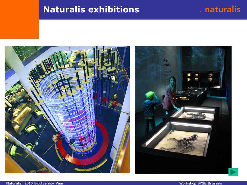 Naturalis exhibitions Naturalis; 2010 Biodiversity YearWorkshop BYSE Brussels