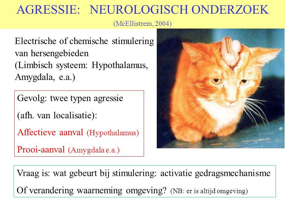 © 2006 JP van de Sande RuG Wat is agressie? Letterlijk: toenaderen (in plaats van vluchten) Alle dieren kennen een Fight/Flight mechanisme Zeer snelle