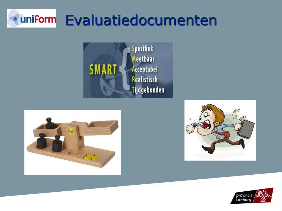 Evaluatiedocumenten