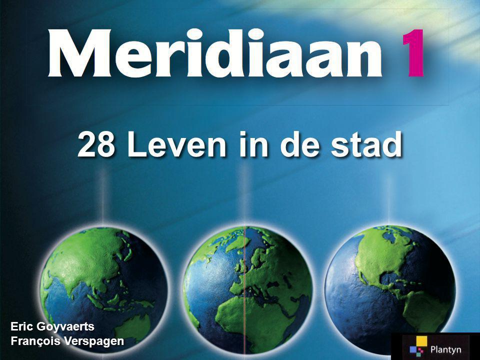 Woonkwaliteit hangt af van: - Huis + voorzieningen - Omgeving - Functies in omgeving 28.1 Woonkwaliteit, verkrotting en leegstand 28.1 Woonkwaliteit, verkrotting en leegstand Meridiaan 1 Meridiaan 1 Blz.