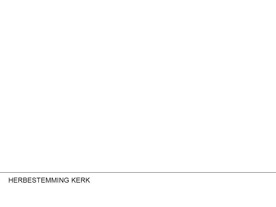 HERBESTEMMING KERK