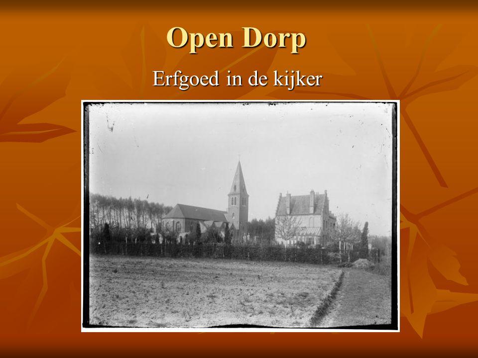 Open Dorp Erfgoed in de kijker
