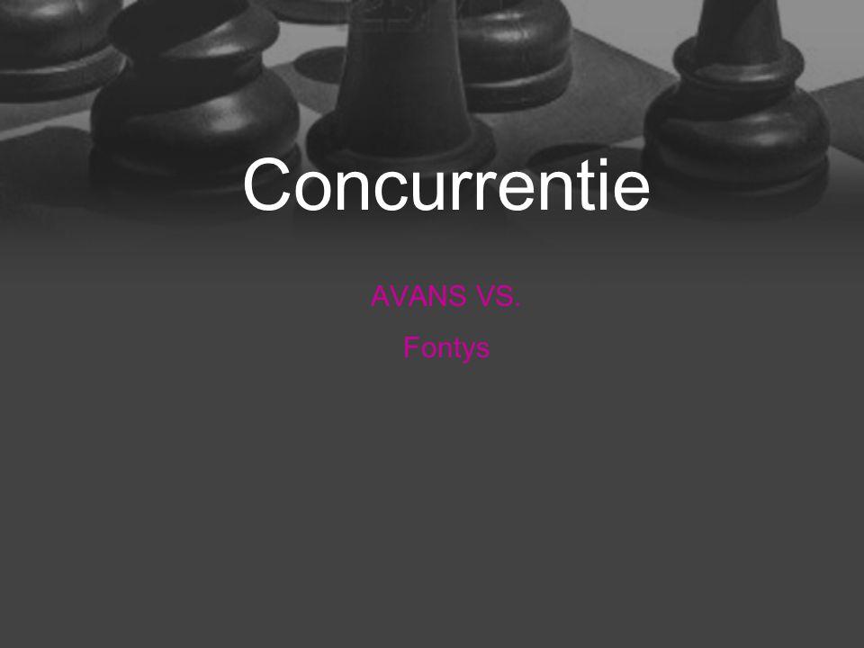 Concurrentie AVANS VS. Fontys