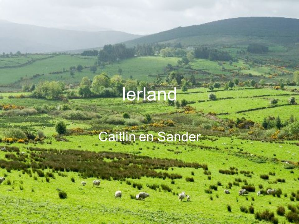 Ierland Caitlin en Sander