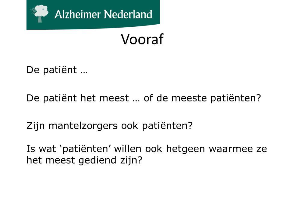 De patiënt … De patiënt het meest … of de meeste patiënten.