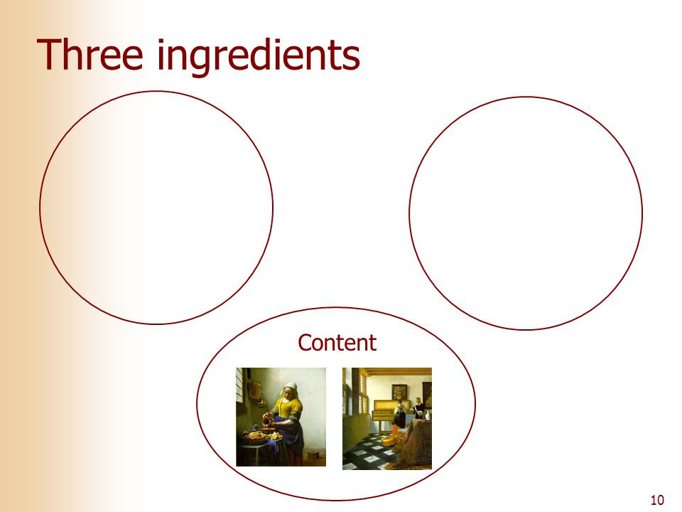 10 Three ingredients Content