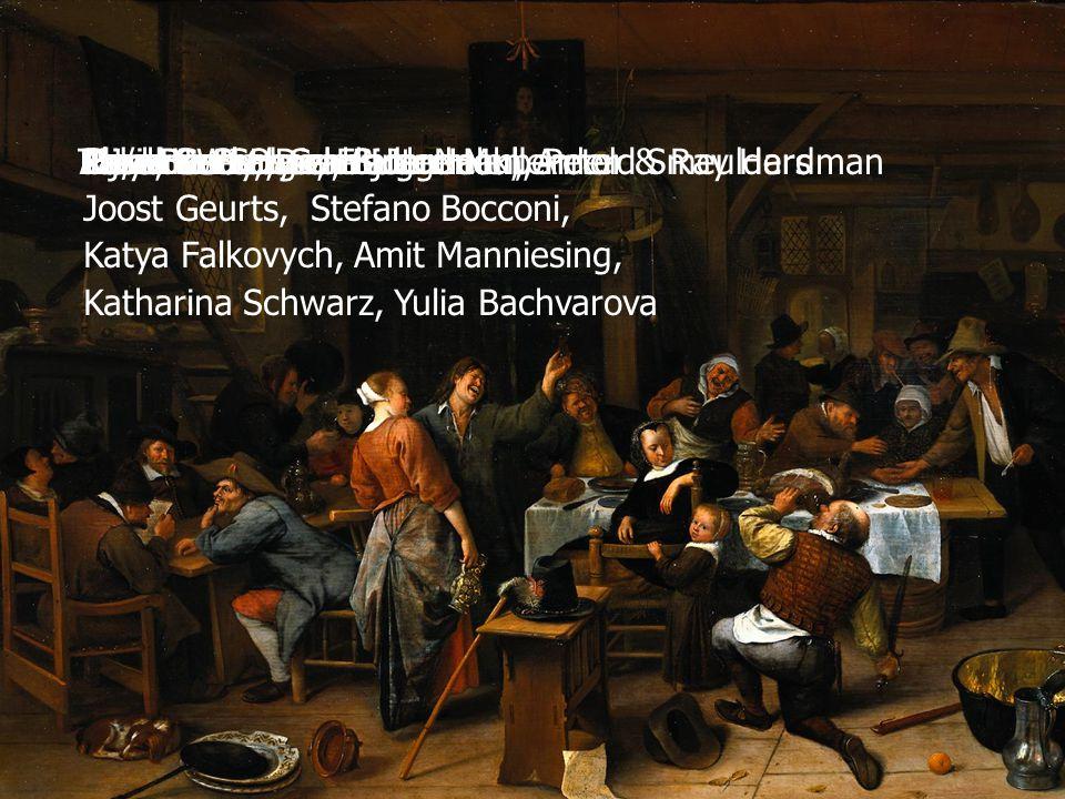 43 TU/e, CWI Alan Bundy, Dick Bulterman, Arnold Smeulders Rijksmuseum Christine Scheel, Sjoerd Mullender Paul De Bra, Geert-Jan Houben Lloyd Rutledge,
