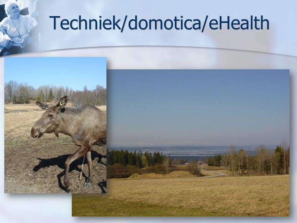 Techniek/domotica/eHealth