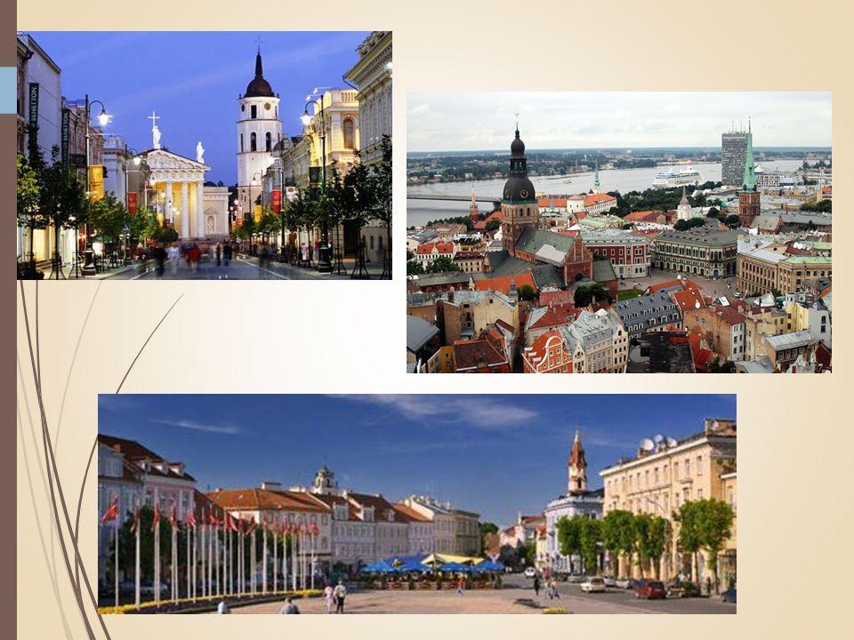 MAAR WEL NAAR... Litouwen Letland