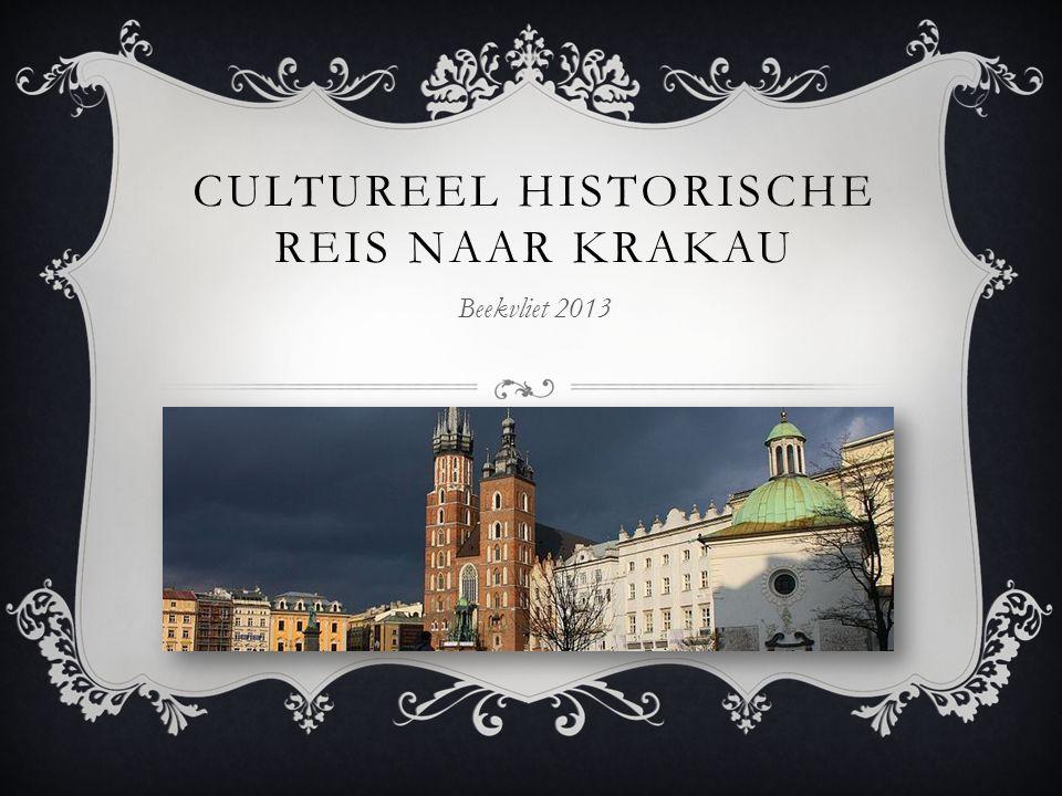 CULTUREEL HISTORISCHE REIS NAAR KRAKAU Beekvliet 2013