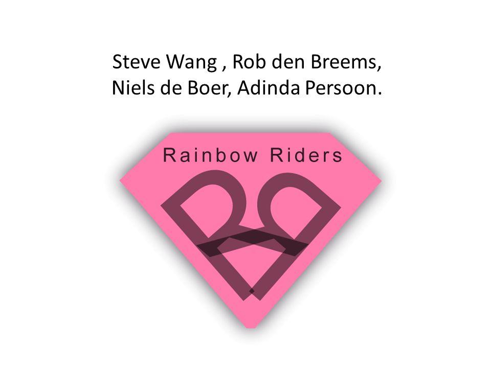 Steve Wang, Rob den Breems, Niels de Boer, Adinda Persoon.