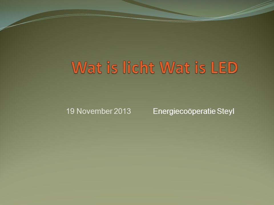 Energiecoöperatie Steyl19 November 2013