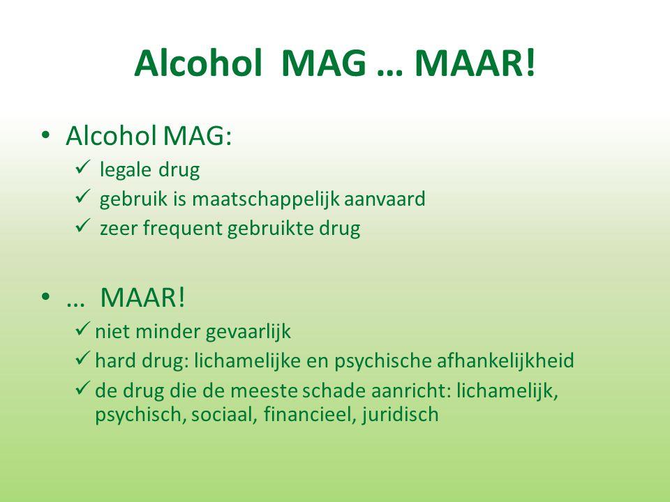 Alcohol MAG … MAAR.