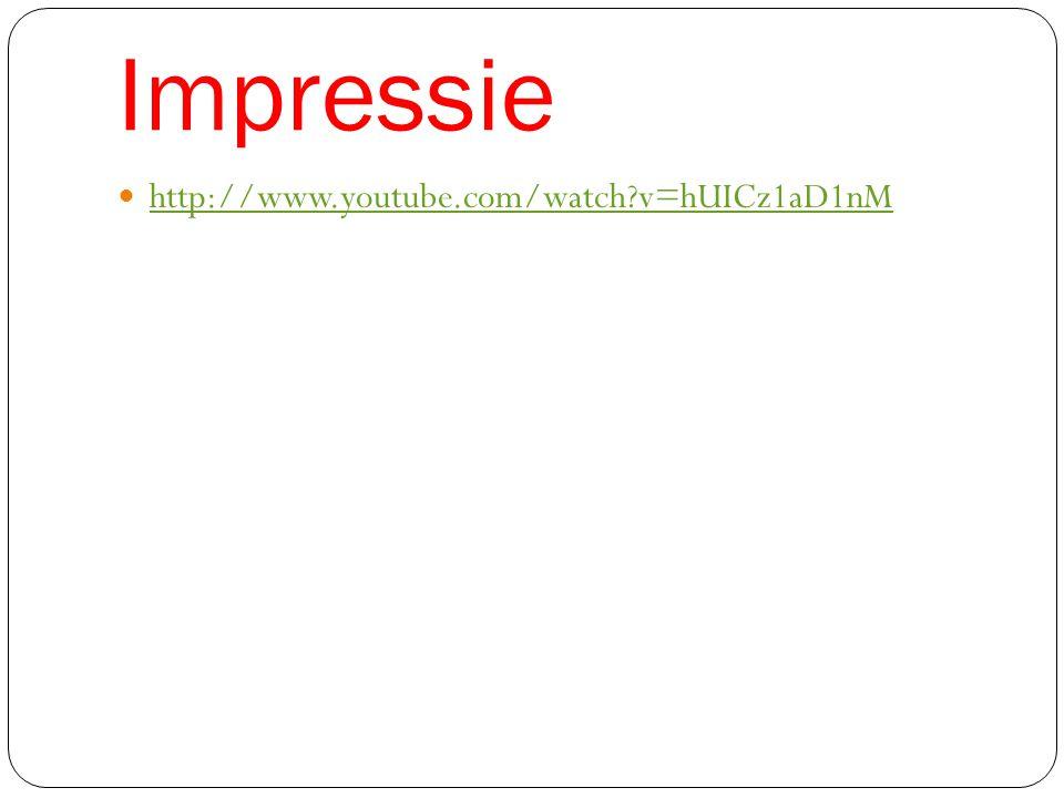 Impressie http://www.youtube.com/watch?v=hUICz1aD1nM