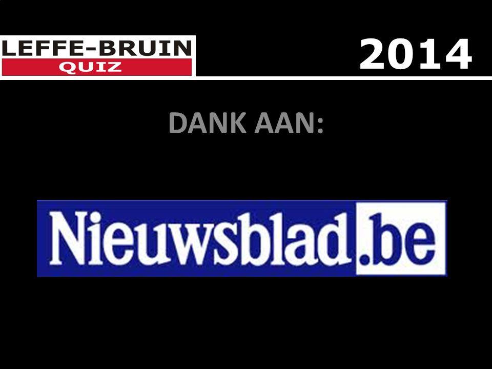 DANK AAN: DEN BRAVE 2014
