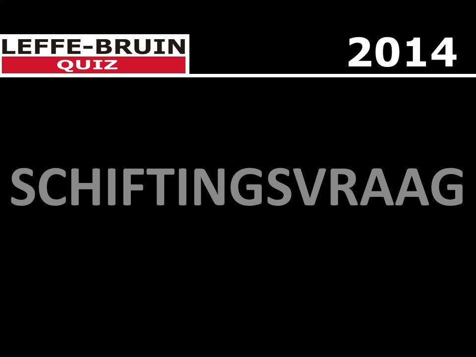 SCHIFTINGSVRAAG 2014