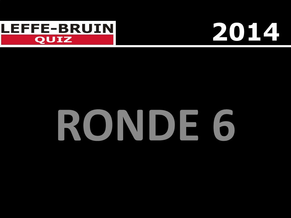 RONDE 6 2014
