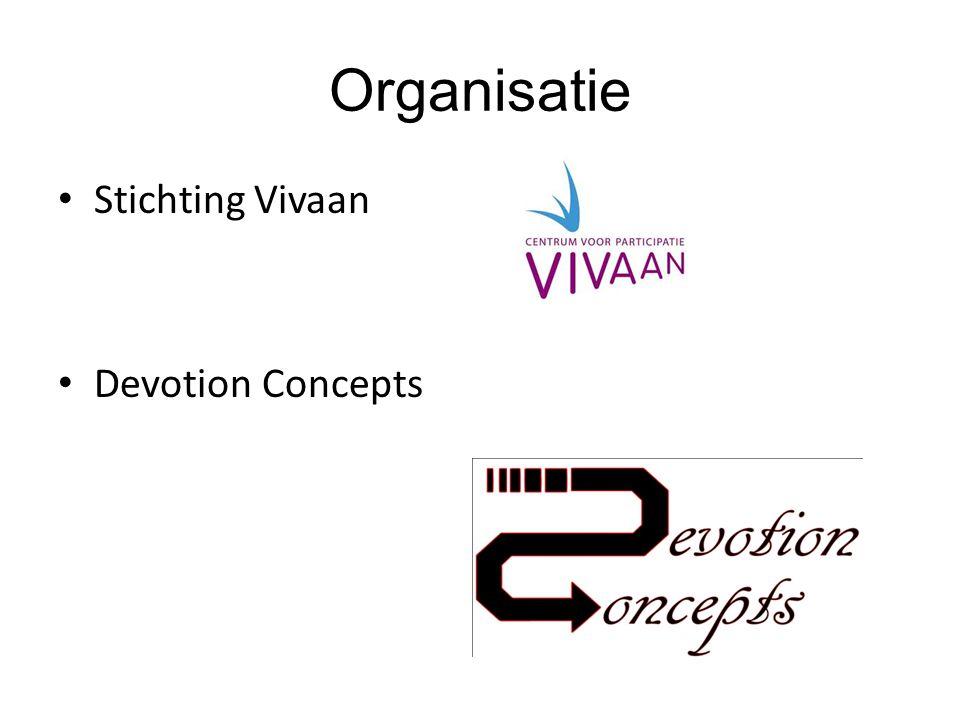 Organisatie Stichting Vivaan Devotion Concepts