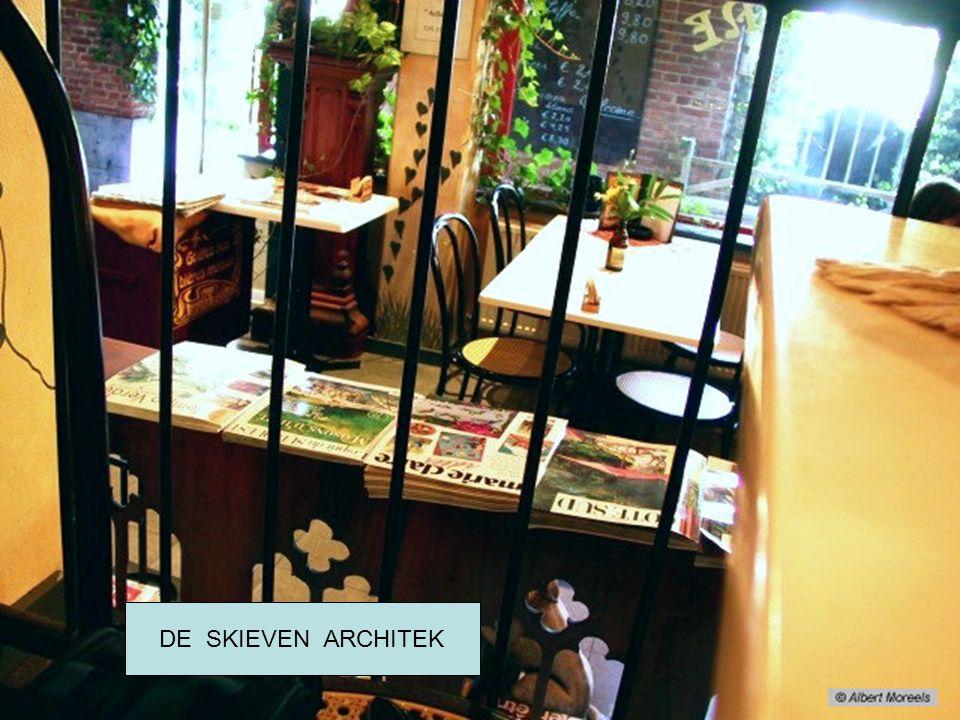 Oude cafés in Brussel DE SKIEVEN ARCHITEK