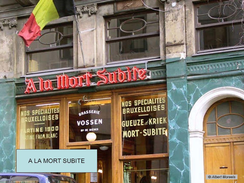 Oude cafés in Brussel TOONE