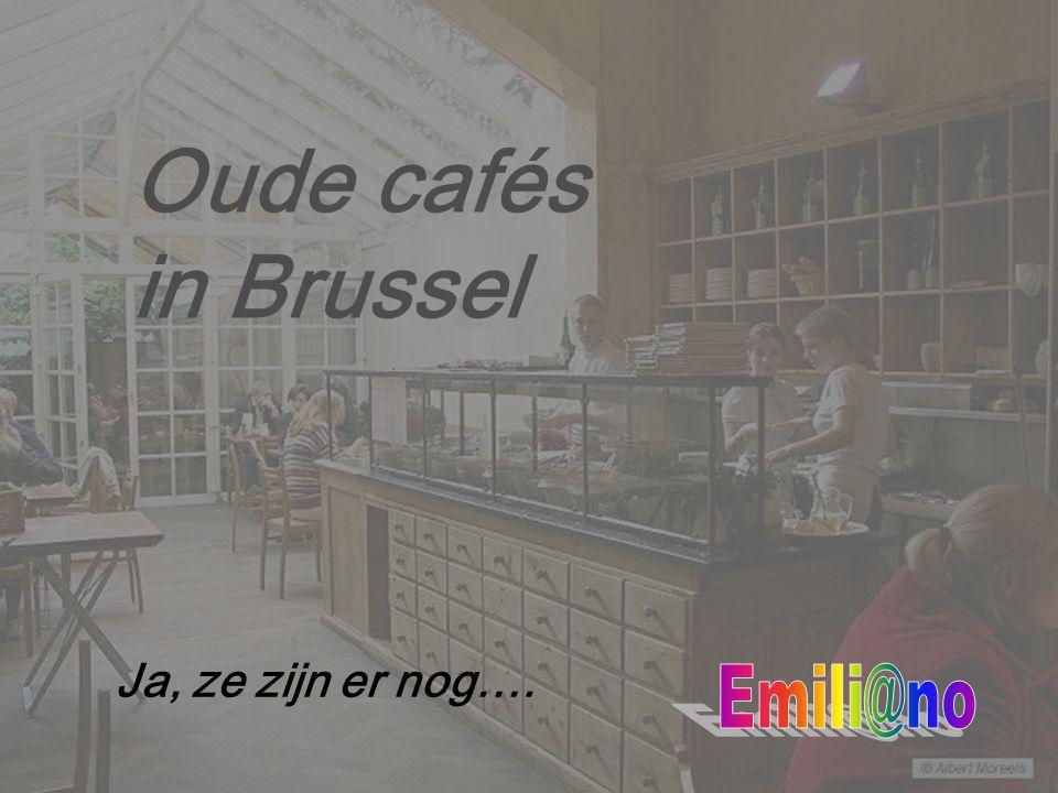 Oude cafés in Brussel AMUZEMENTENKROEG