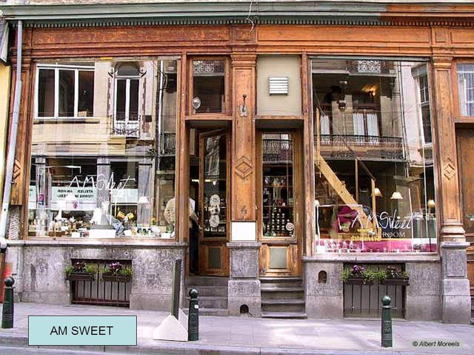 Oude cafés in Brussel AM SWEET