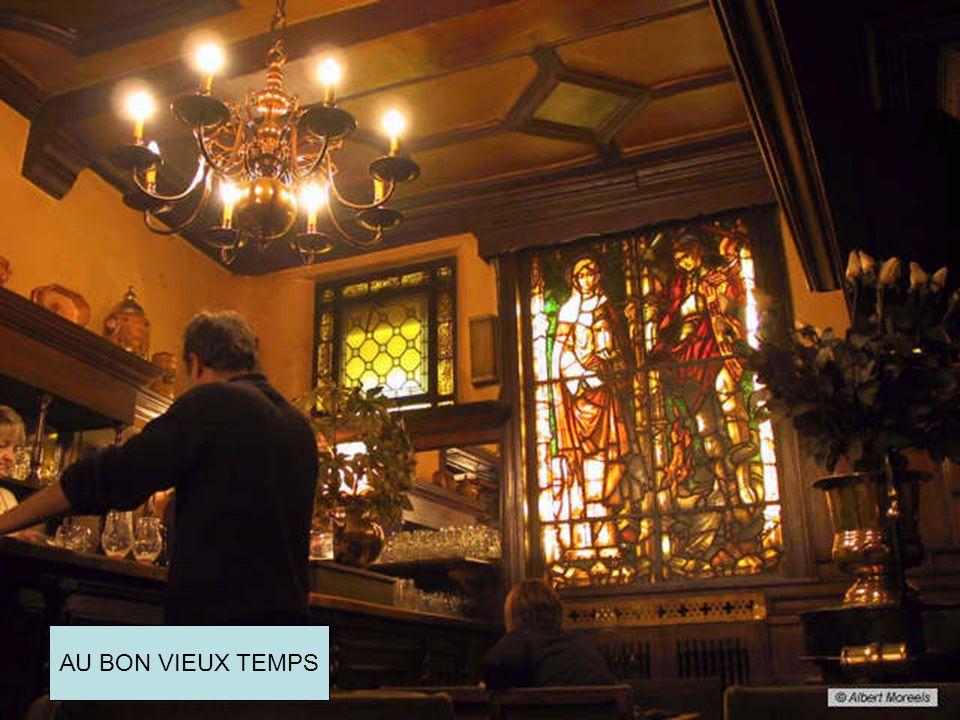 Oude cafés in Brussel AU BON VIEUX TEMPS