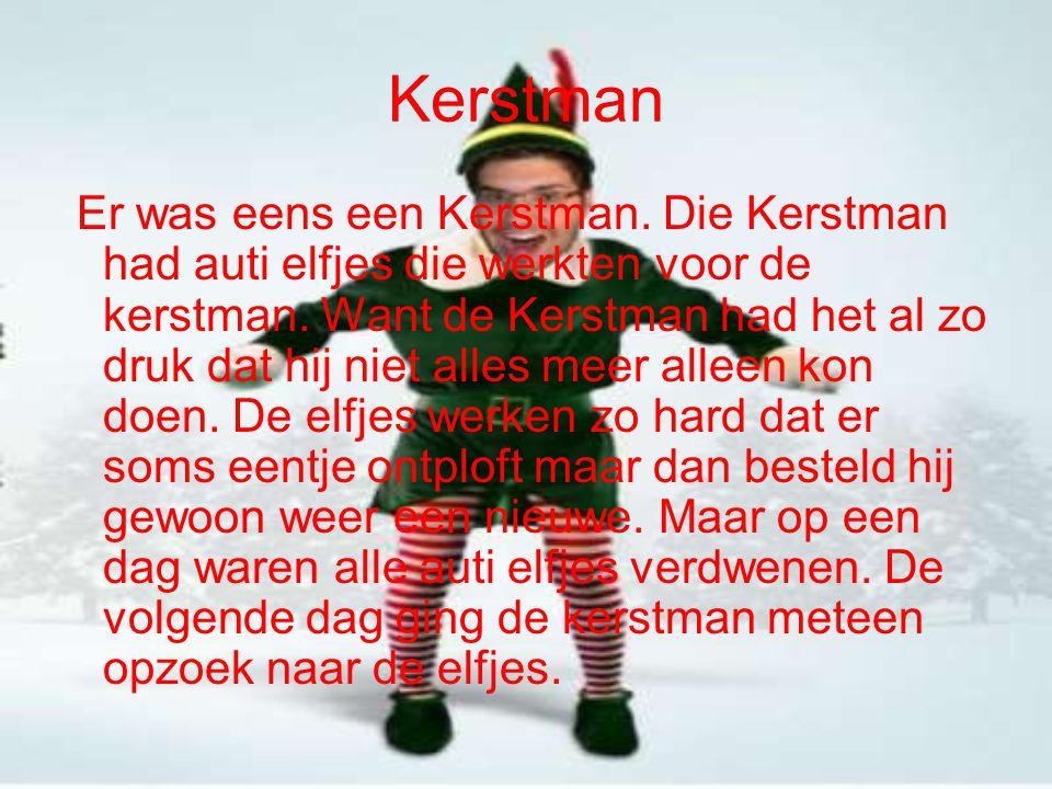 Kerstman is op zoek naar de elfjes De kerstman ging op weg eerst nam hij een kijkje in holland.