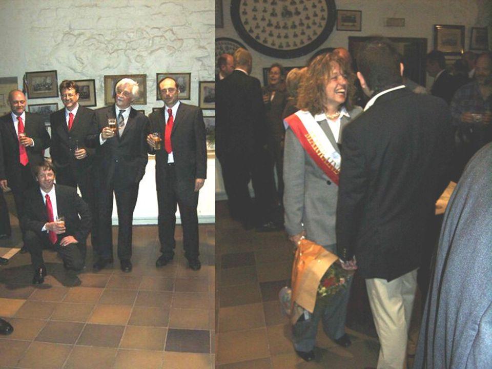 Samen met de eerwaarde deken danken wij het stadsbestuur van Leuven voor de ons aangeboden receptie
