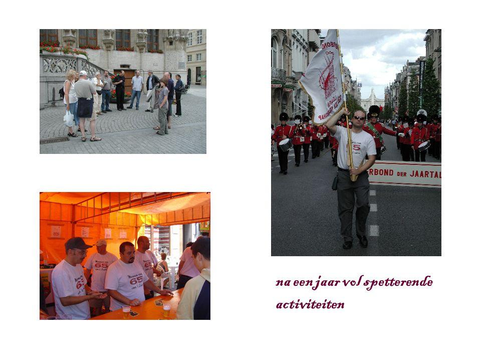 is het dan eindelijk zover… dé dag van 1965 21 mei 2005 VLAGWIJD ING in de Sint-Pieterskerk te Leuven