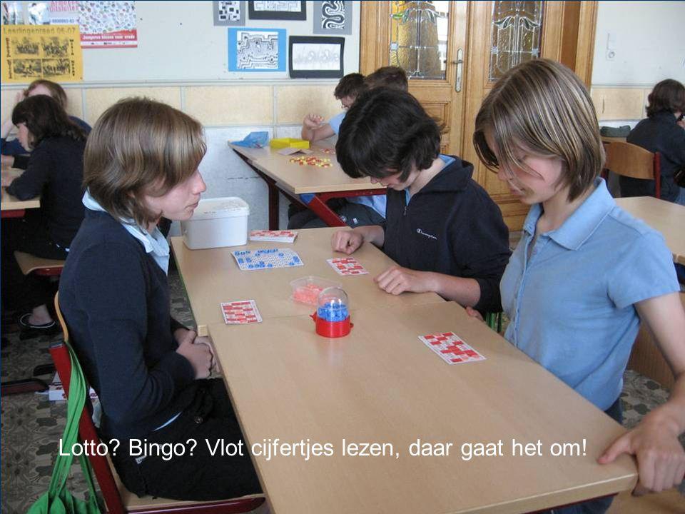 Lotto Bingo Vlot cijfertjes lezen, daar gaat het om!
