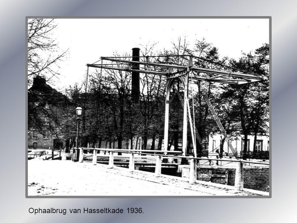 Ophaalbrug van Hasseltkade 1936.