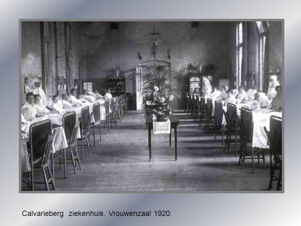 Calvarieberg ziekenhuis. Vrouwenzaal 1920.