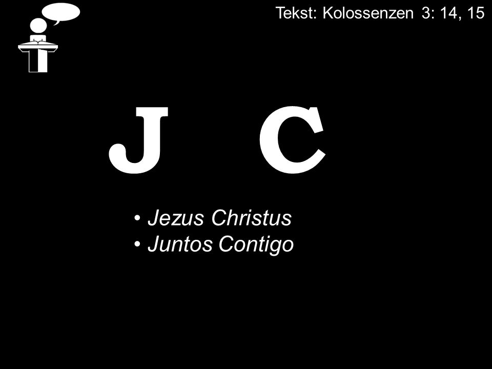 JC Jezus Christus Juntos Contigo