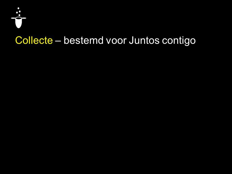 Collecte – bestemd voor Juntos contigo