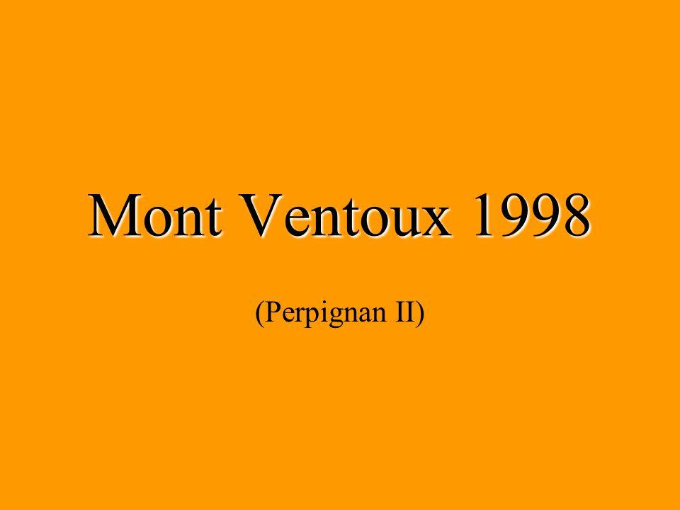Mont Ventoux 1998 (Perpignan II)