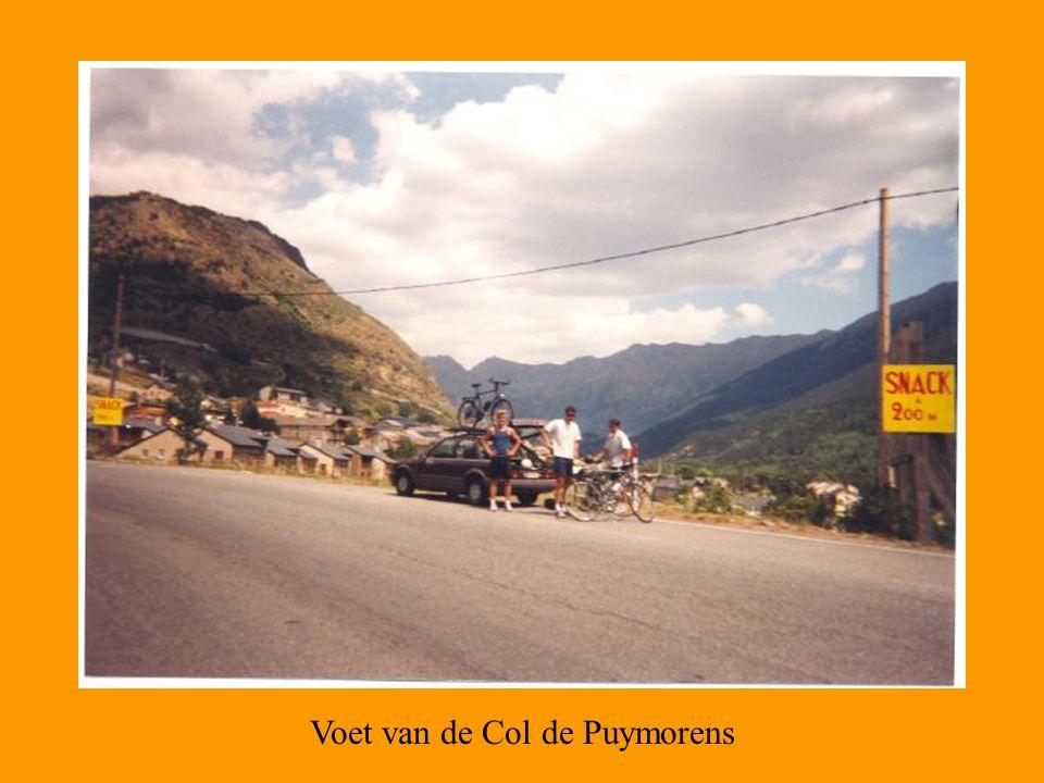 Voet van de Col de Puymorens