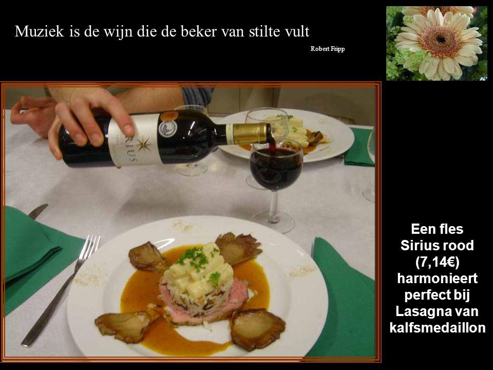 """Een """"Chablis Fourchaumes Premier Cru"""" (17,10€) is perfect bij gesauteerde Sint Jacobsvruchten met lentegroentjes Hoopgevend onderzoek inzake de ziekte"""
