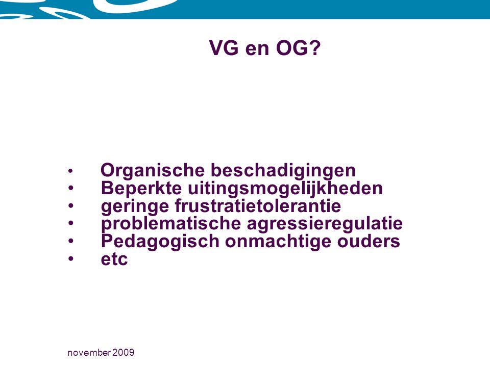 november 2009 VG en OG.