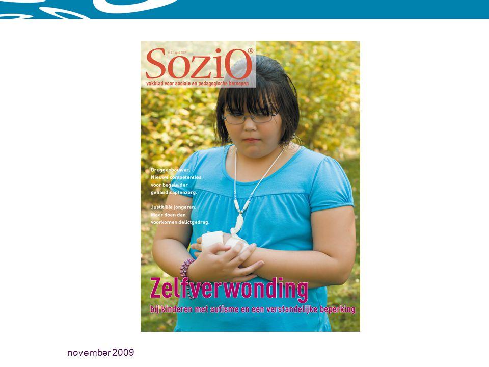 november 2009 Aspecten van de behandeling Voorlichting (psycho-educatie) Begeleiding Medicatie Psychotherapie cognitieve gedragstherapie