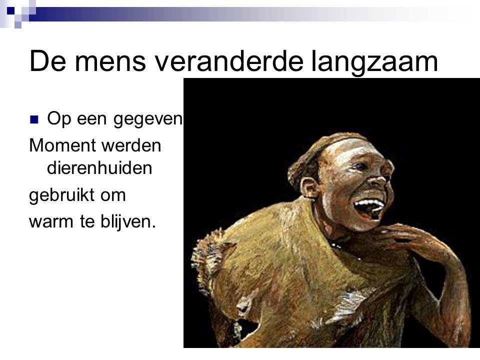 Ötzi Ötzi  In het ijs gevonden in de bergen.