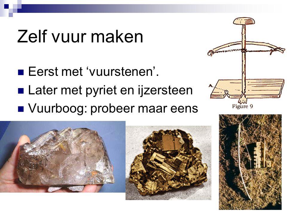 Hoe weten we dit alles?? Paalsporen Graven Potscherven Grottekeningen Opgravingen: