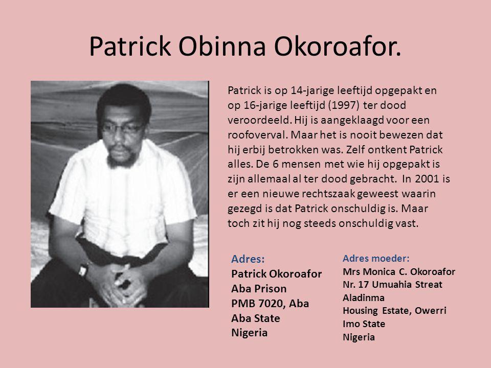 Patrick Obinna Okoroafor.