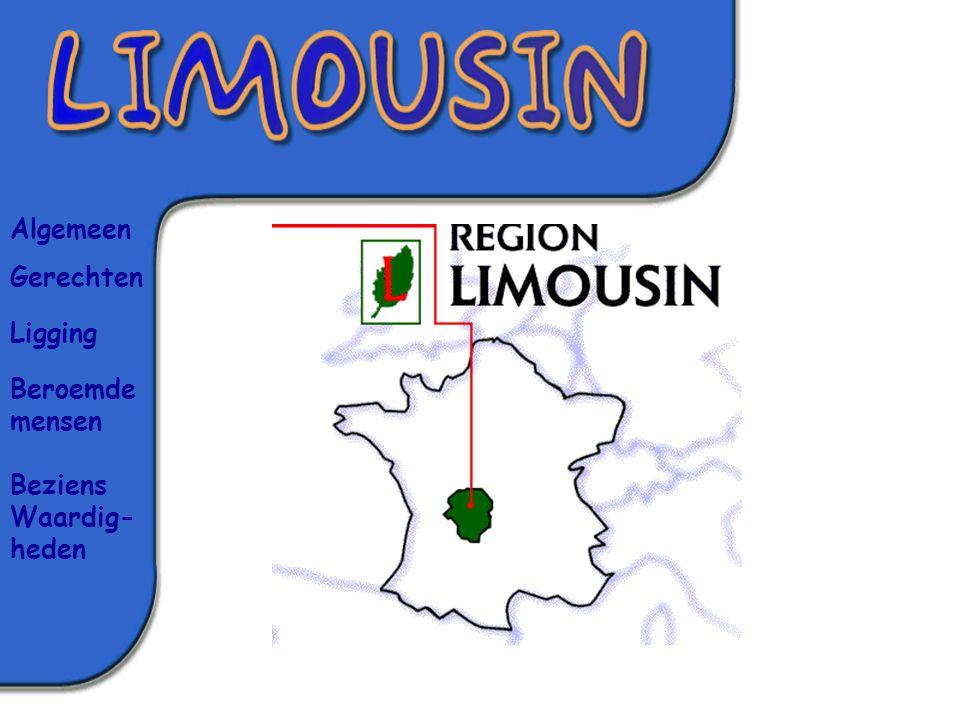 Limousin is niet een al te grote provincie in Frankrijk.