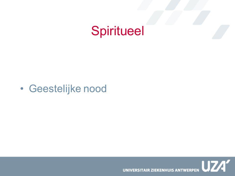 Spiritueel Geestelijke nood