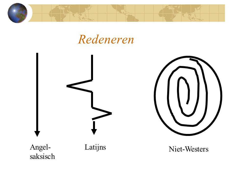 Redeneren Angel- saksisch Latijns Niet-Westers