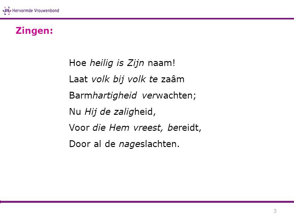 © Hervormde Vrouwenbondwww.hervormdevrouwenbond.nl Ina Boersma De Christus van God (dr.