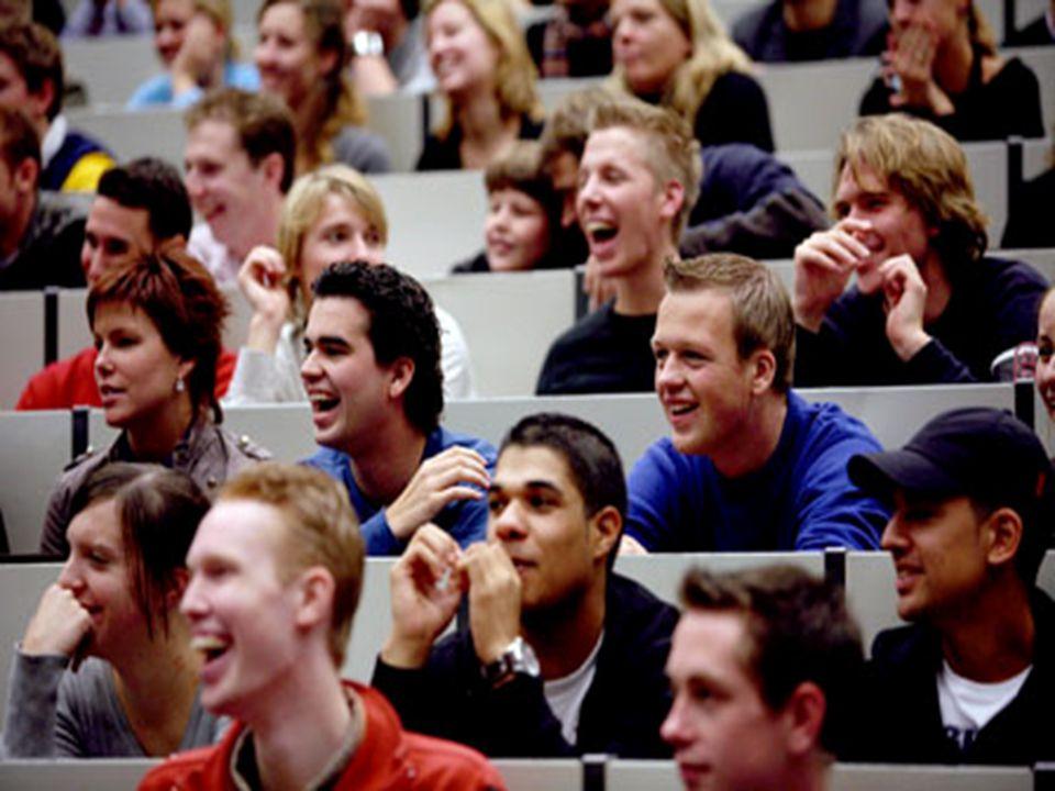 Doelgroep 20-35 jaar studenten starters